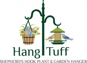Hang Tuff Hangers shepherd hook plant and garden hangers