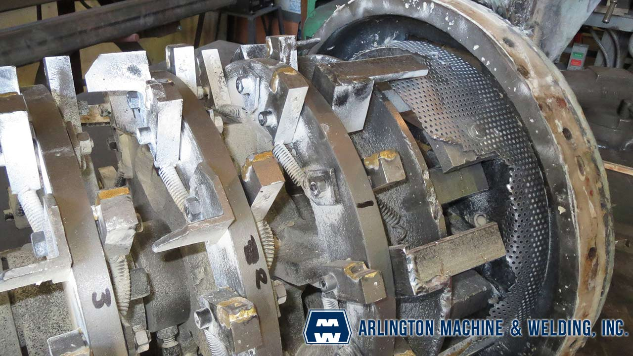 Flour mill repair facilitated by Arlington Machine & Welding Inc.