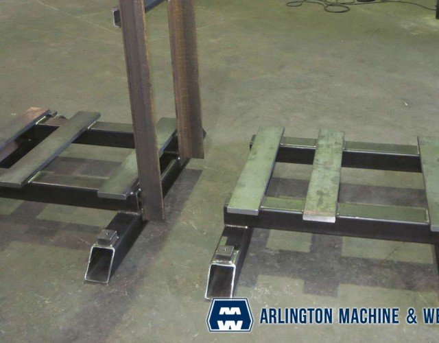 Miscellaneous weldments fabricated by Arlington Machine & Welding Inc.